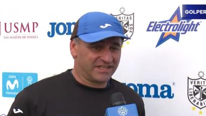 """Carlos Bustos: """"No me gusta usar la palabra presión en el fútbol"""""""
