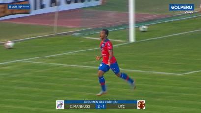Liga1 Movistar: Carlos A. Mannucci se hace fuerte en el norte y bate a UTC (2-1)