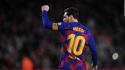 Lionel Messi se unió al exclusivo club de Pelé, Cristiano y Romario con sus 700 goles