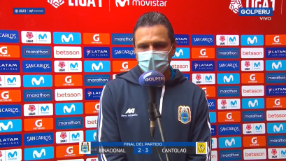 Pedro Alzate, asistente de Deportivo Binacional: