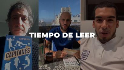 Alianza Lima: Mario Salas y los jugadores recomiendan libros para la cuarentena