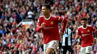 Premier League: Cristiano Ronaldo anotó un doblete en su regreso al Manchester United