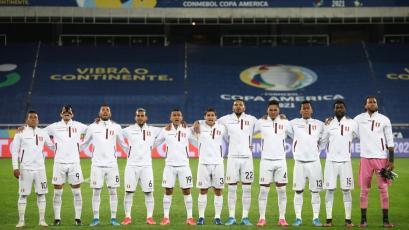 Perú vs Brasil: emocionante entonación del himno nacional de los seleccionados en Río de Janeiro