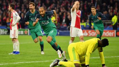 Champions League: Con 'hat trick' de Lucas Moura, Tottenham superó al Ajax y jugará la final