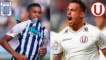 Duelo de goleadores: Quevedo y Denis lideran la lista en Alianza Lima y Universitario
