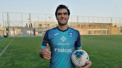 Oficial: Álvaro Ampuero es nuevo jugador del Zira FK de Azerbaiyán