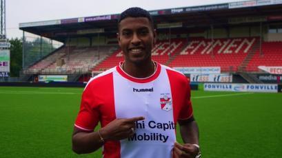 Miguel Araujo es nuevo jugador del FC Emmen de Holanda