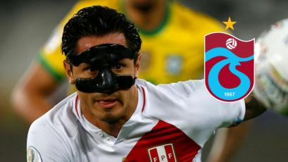 Gianluca Lapadula: técnico del Trabzonspor de Turquía pidió informe del 9 peruano