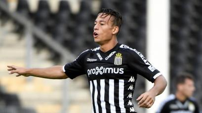Cristian Benavente actuó en la goleada del Charleroi