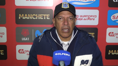 Roberto Mosquera tras igualar ante Sport Huancayo: