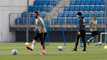 La Liga: Real Madrid volvió a los entrenamientos después de dos meses