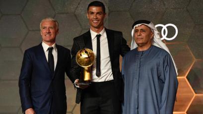 Cristiano Ronaldo es el mejor del mundo para Globe Soccer Awards