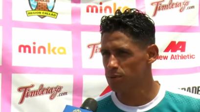 """Paolo De la Haza: """"Perú tiene la capacidad de hacerle un buen partido a Uruguay"""""""