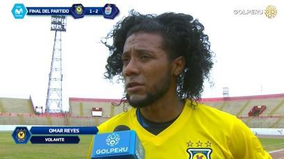 """Omar Reyes: """"No supimos manejar el resultado a favor y eso nos costó"""""""