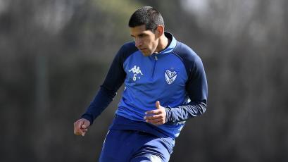 Luis Abram disputó amistoso con Vélez Sarsfield