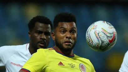Copa América: el grave error de Christian Ramos que originó el 1-1 entre Perú y Colombia (VIDEO)