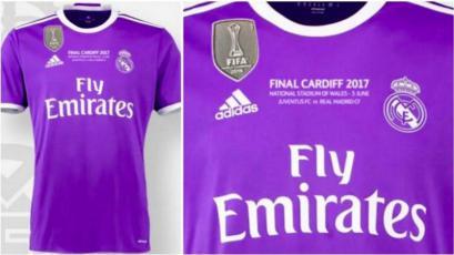 Real Madrid jugará la gran final de Cardiff con esta camiseta