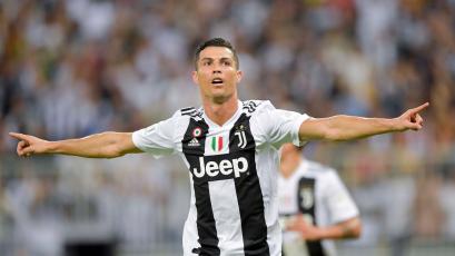 Cristiano Ronaldo le da su octava Supercopa de Italia a Juventus