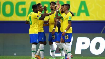 Eliminatorias Sudamericanas: Brasil venció 4-1 a Uruguay por la fecha 12