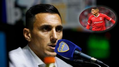 Paolo Guerrero: director deportivo de Boca Juniors confirmó reunión con el Internacional