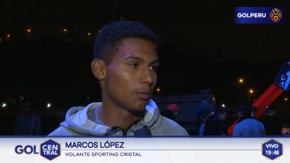 """Marcos López: """"Nos preparamos para llegar de la mejor manera a la final"""""""