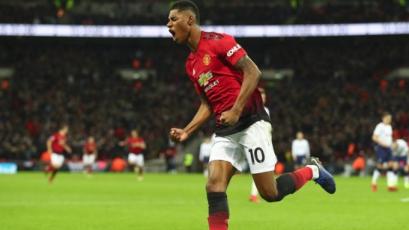 Marcus Rashford le da la sexta victoria seguida al Manchester Unitad tras la partida de Mourinho