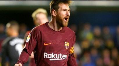 Lionel Messi y el nuevo récord que alcanzó tras anotar ante el Villarreal