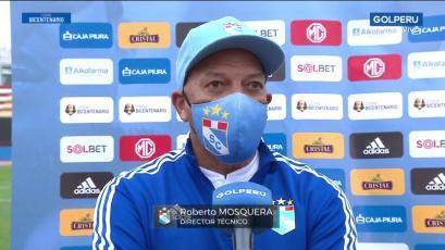 """Robertoe Mosquera: """"Se hizo justicia con el gol, eso quiere decir que no nos entregamos nunca"""" (VIDEO)"""