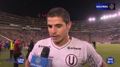 """Aldo Corzo """"Hicimos un partido correcto ante un rival de nivel internacional"""""""