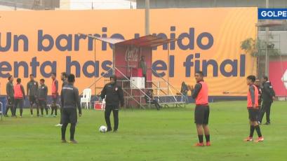 Selección Peruana Sub 23 entrenó pensando en los Juegos Panamericanos Lima 2019