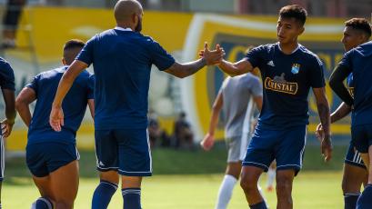 Liga1 Betsson: Sporting Cristal goleó 5-0 a Universidad San Martín en un duelo amistoso