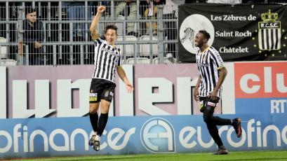 Cristian Benavente anotó en triunfo del Sporting Charleroi