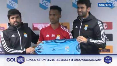Sporting Cristal: Nilson Loyola fue presentado oficialmente como nuevo refuerzo del club