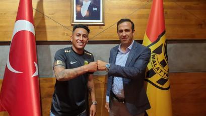 Christian Cueva fue presentado como nuevo jugador del Yeni Malatyaspor de Turquía