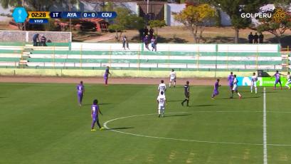 Comerciantes Unidos ganó 2-1 a Ayacucho F.C