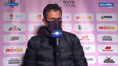 """Marcelo Vivas: """"Siendo once contra once estábamos haciendo un buen partido"""" (VIDEO)"""