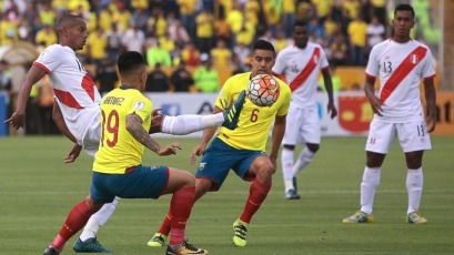 Perú vs. Ecuador: Alineaciones oficiales
