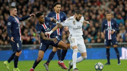 Champions League: Real Madrid y PSG protagonizaron un partidazo en el Bernabéu (VIDEO)