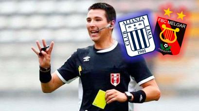 Alianza Lima vs. FBC Melgar: Kevin Ortega dirigirá la primera semifinal