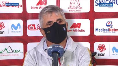 """Marcelo Grioni: """"Nos faltó un poco de fortuna porque las chances las tuvimos"""" (VIDEO)"""