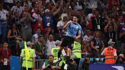 Rusia 2018: Cavani fue la figura en el triunfo de Uruguay sobre Portugal