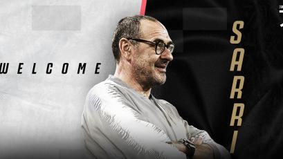Maurizio Sarri  es nuevo técnico de la Juventus