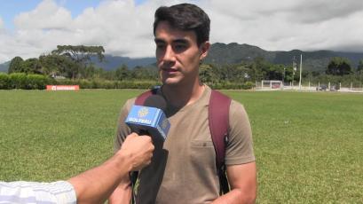 """Luis Garro: """"Estoy contento por el regreso del profesor Pablo a Alianza Lima"""""""