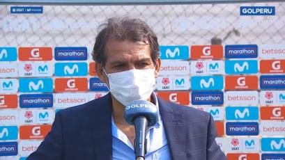 """Franco Navarro: """"Nada desdibuja lo que se hizo esta tarde"""" (VIDEO)"""