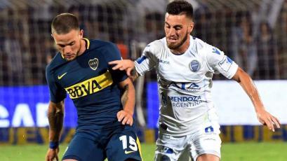 Boca perdió con Godoy Cruz en su primer partido del año
