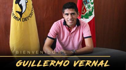 Academia Cantolao: Guillermo Vernal es el tercer refuerzo para el 2018