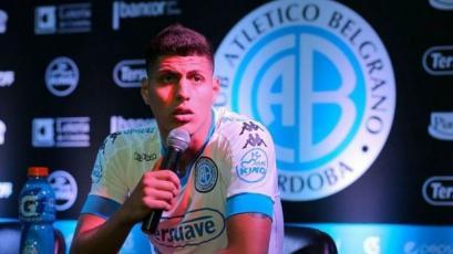 Hansell Riojas fue convocado por Belgrano para jugar con Newell's