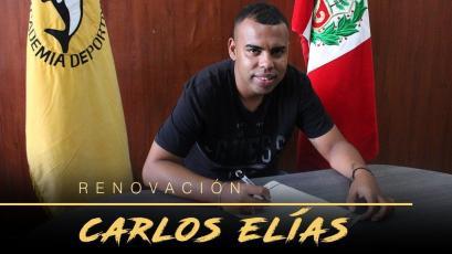 Academia Cantolao: Carlos Elías renueva por toda la temporada