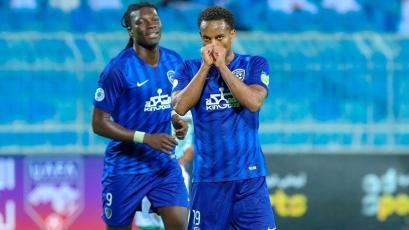 Con André Carrillo como titular, el Al Hilal goleó como visitante