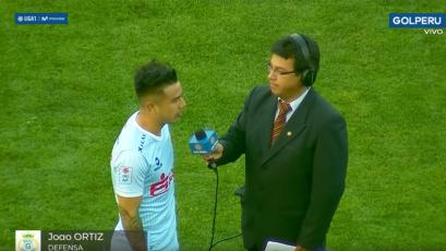 "Joao Ortiz: ""El equipo jugó muy bien"""